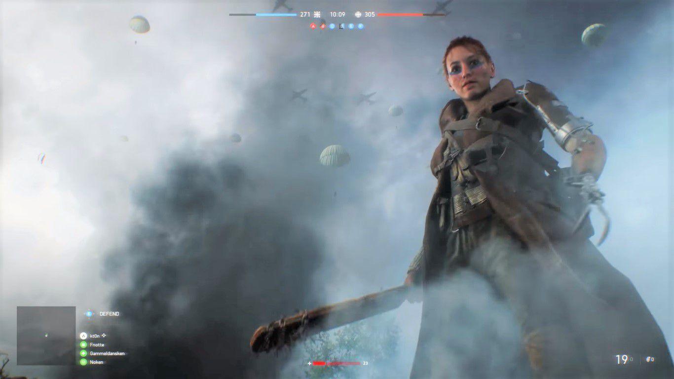 battlefield 5 women