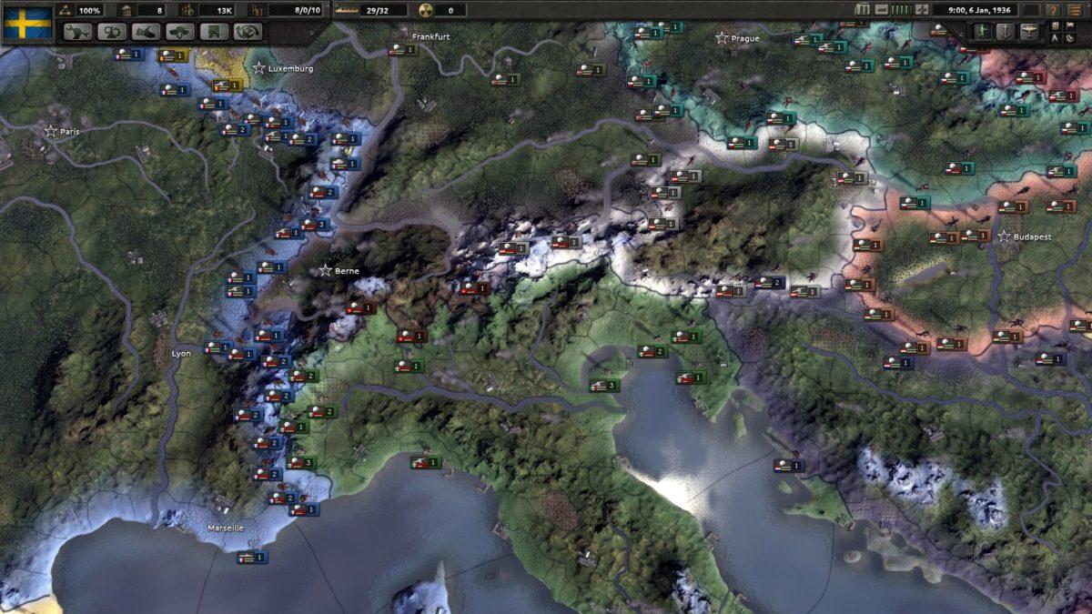 Resultado de imagem para hearts of iron map